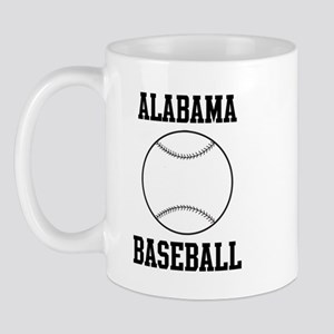 Alabama Baseball Mug
