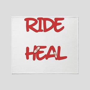 Heal Tomorrow Throw Blanket