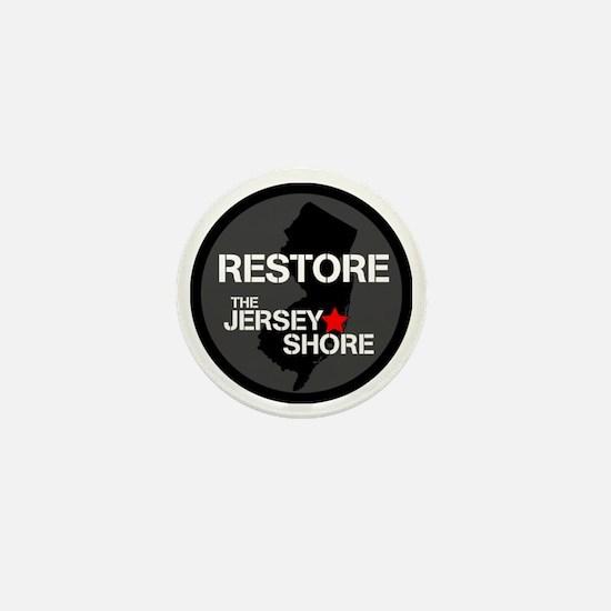 Restore The Jersey Shore Mini Button