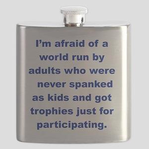 IM AFRAID OF A WORLD RUN ADULTS  WHO... Flask