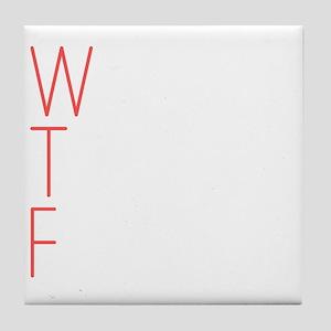 WTF Tile Coaster