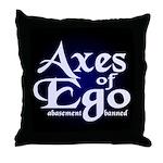 Axes of Ego Throw Pillow