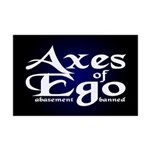 Axes of Ego Mini Poster Print