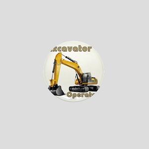 Excavator Mini Button