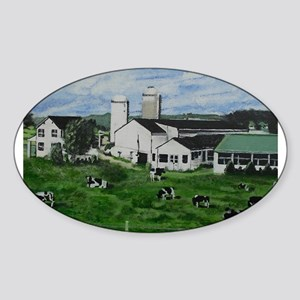 Pennsylvania Holstein Dairy Farm. Sticker