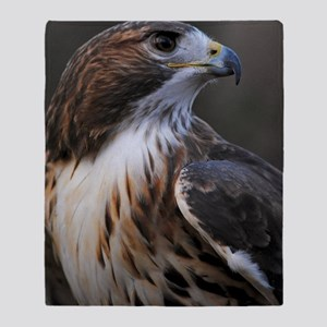 Red-tailed Hawk Throw Blanket