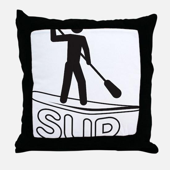 SUP Throw Pillow