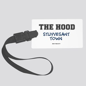 THE HOOD - STUYVESANT TOWN - NEW Large Luggage Tag