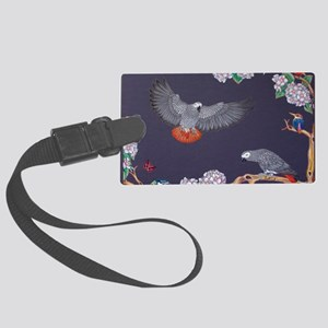 Tropical African Paradise Large Luggage Tag