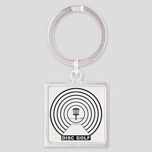 Tunnel Vision Square Keychain