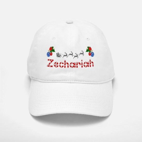 Zechariah, Christmas Baseball Baseball Cap