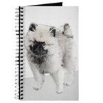 Keeshond Puppy (Drawing) Journal