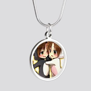 Kitty Brothers (Romano and I Silver Round Necklace