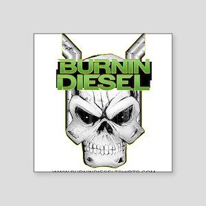 Burnin Diesel Sticker