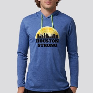 Houston Strong Mens Hooded Shirt