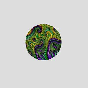 Mardi Gras Mambeaux Mini Button