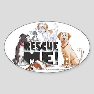 RescueMe Sticker (Oval)