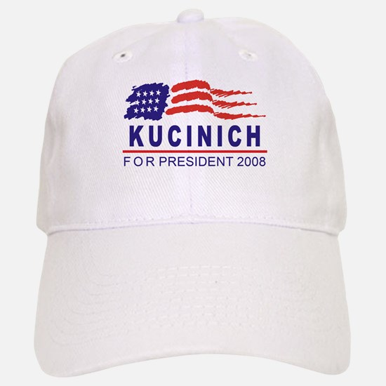 Dennis Kucinich 2008 (wave) Baseball Baseball Cap