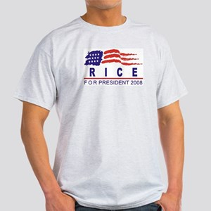 Condoleeza Rice 2008 (wave) Light T-Shirt
