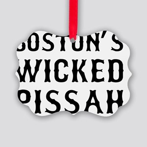 Boston Wicked Pissah Picture Ornament