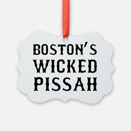 Boston Wicked Pissah Ornament