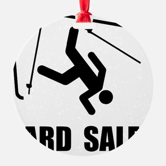 Ski Yard Sale Ornament