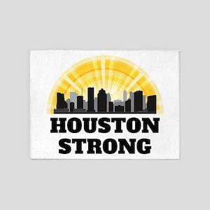 Houston Strong 5'x7'Area Rug