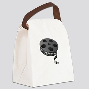Keep Movie Reel Canvas Lunch Bag