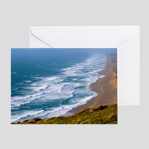 Point Reyes Surf Greeting Card