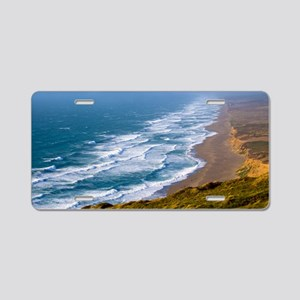 Point Reyes Surf Aluminum License Plate