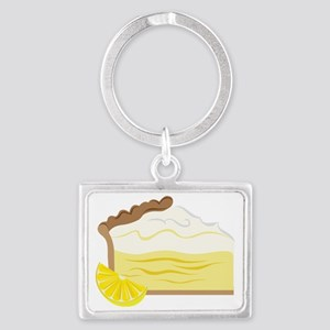 Lemon Pie Landscape Keychain