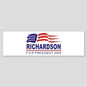 Bill Richardson 2008 (wave) Bumper Sticker