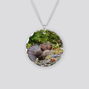 9 x 12 print Necklace Circle Charm