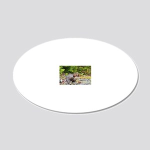 9 x 12 print 20x12 Oval Wall Decal