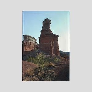 Lighthouse Peak Palo Duro Canyon  Rectangle Magnet