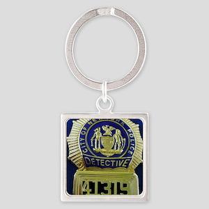 Detective Kate Beckett Square Keychain