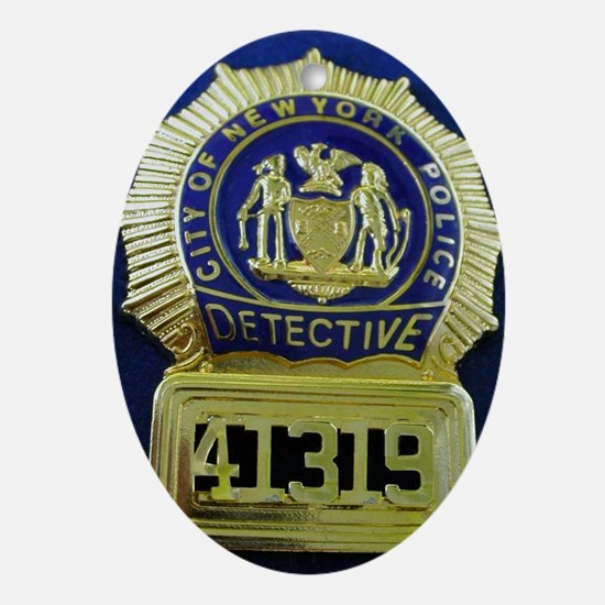 Detective Kate Beckett Oval Ornament