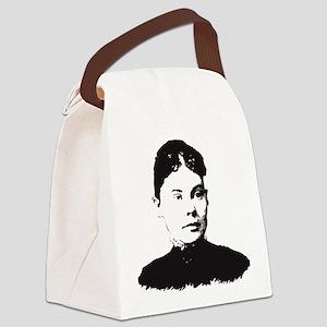 Lizzie Borden Canvas Lunch Bag
