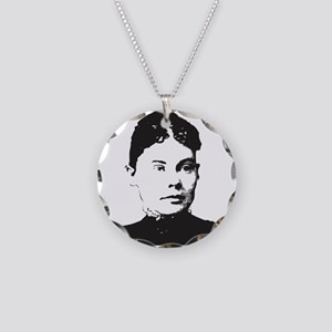 Lizzie Borden Necklace Circle Charm