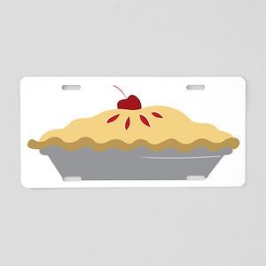 Cherry Pie Aluminum License Plate