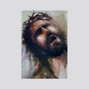 Christ passion Rectangle Magnet