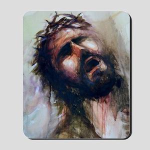 Christ passion Mousepad