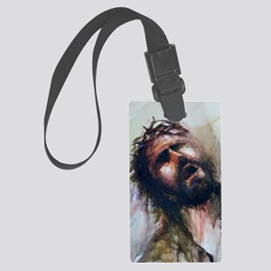 Christ passion Large Luggage Tag