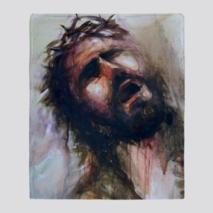 Christ passion Throw Blanket