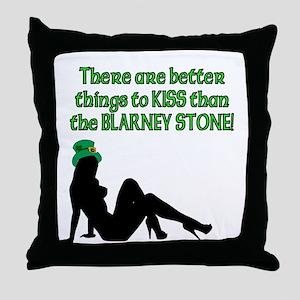 Blarney Stone Throw Pillow