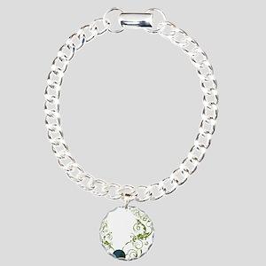 bethechange_earth_dark Charm Bracelet, One Charm