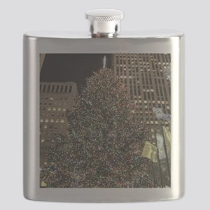 Christmas Tree - Rockefeller Center Flask