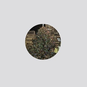 Christmas Tree - Rockefeller Center Mini Button