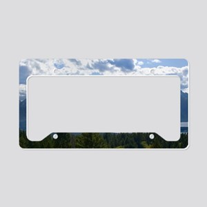 Grand Tetons License Plate Holder