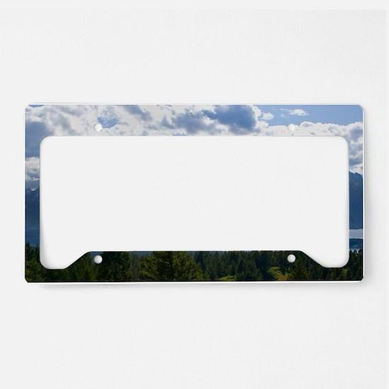 Grand Tetons License Plate Holder